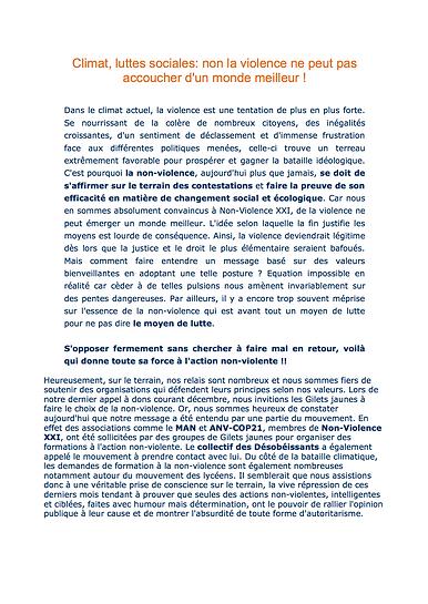 NON VIOLENCE XXI et Gilets Jaunes.png