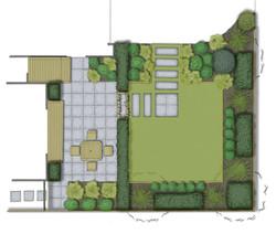 Contemporary Garden Design - Small space