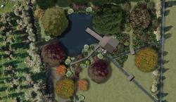 Lakeside retreat landscape plan