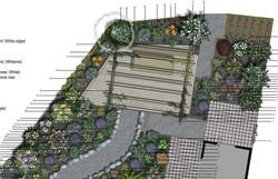 Perennial planting - Nelson