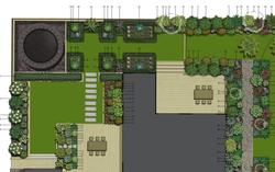 Tasman garden design