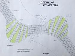 Path/Sitting area - Stone detail