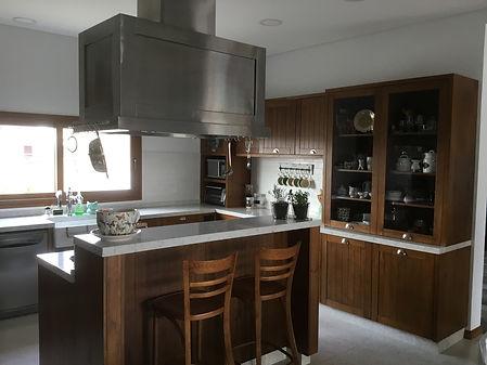 amoblmaniento de cocina, mueble de cocina, alacena, bajo, fábrica de muebles, Racco, enchapado en madera