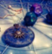 magic pendulum, horoscope with zodiac si