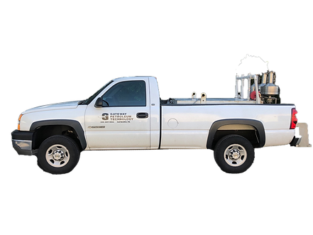 Gateway Petroleum Services Calibration Truck