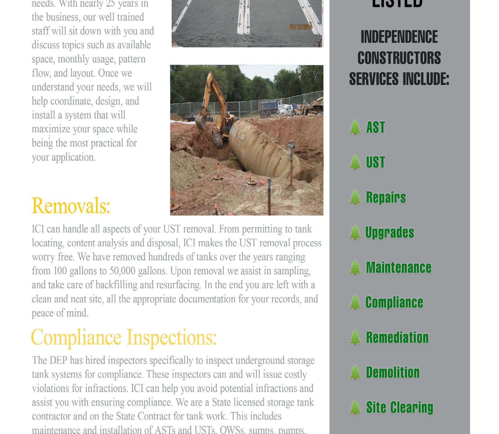 Independence Constructors - Newsletter -