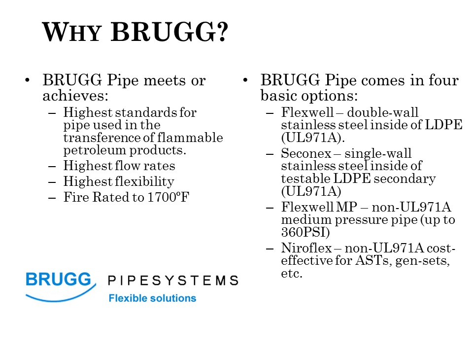 Why Brugg?