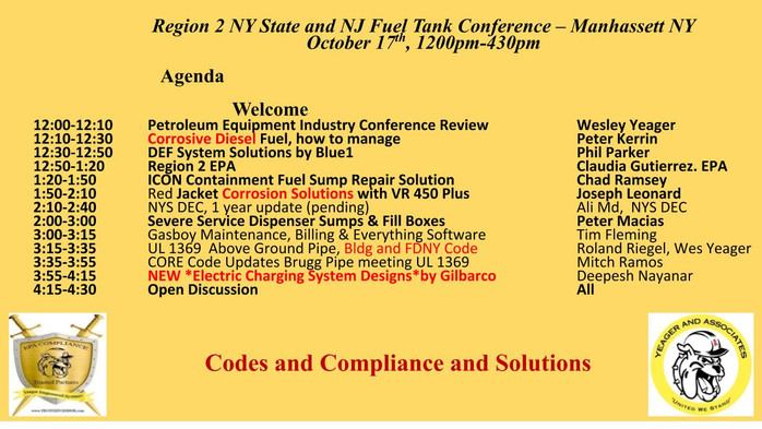 Tank Conference Agenda is Out!
