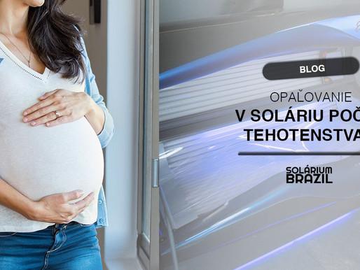 Solárium počas tehotenstva