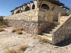 Tri-Plex Apartments overlook desert
