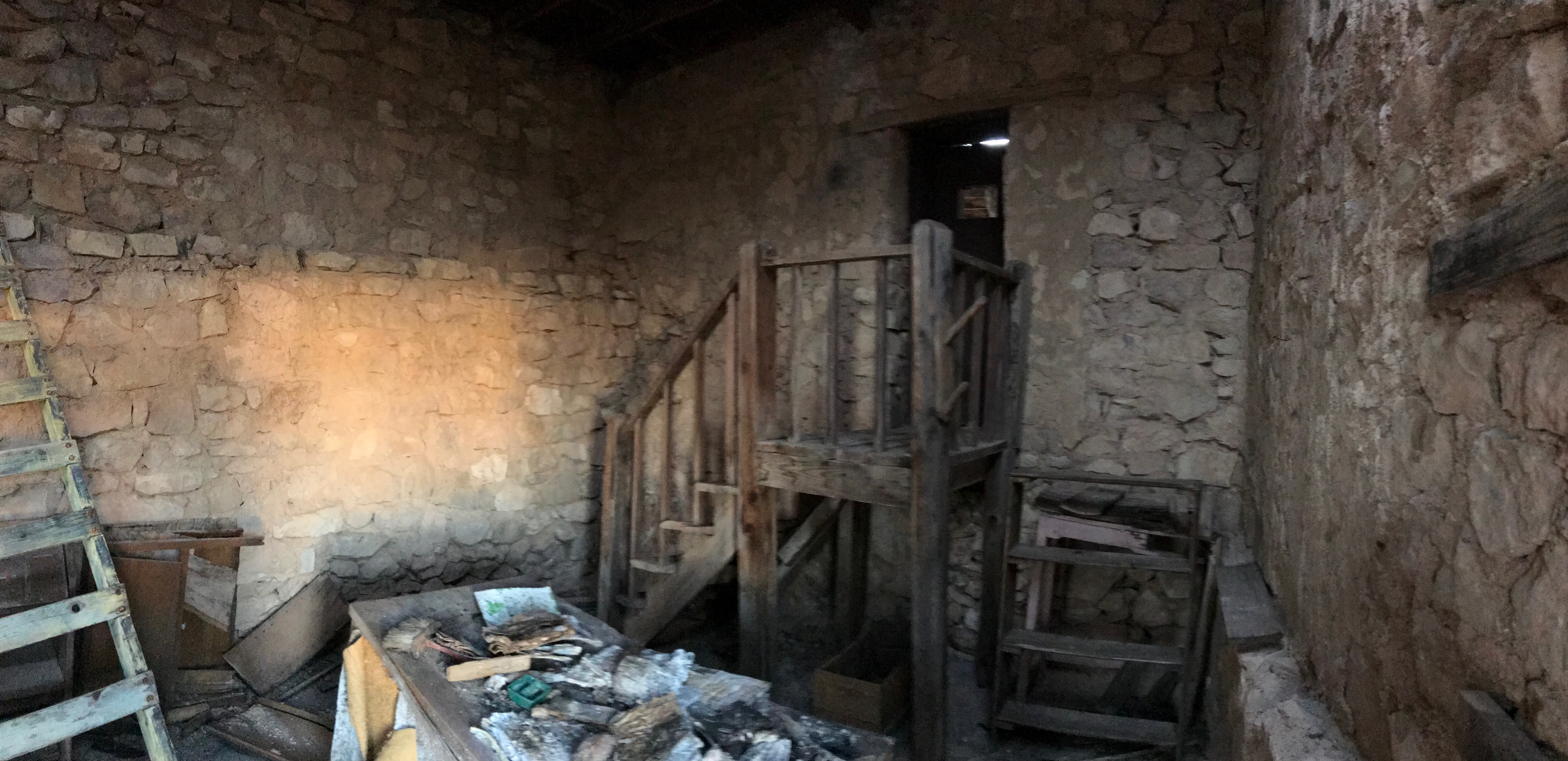 stairs leading to next room