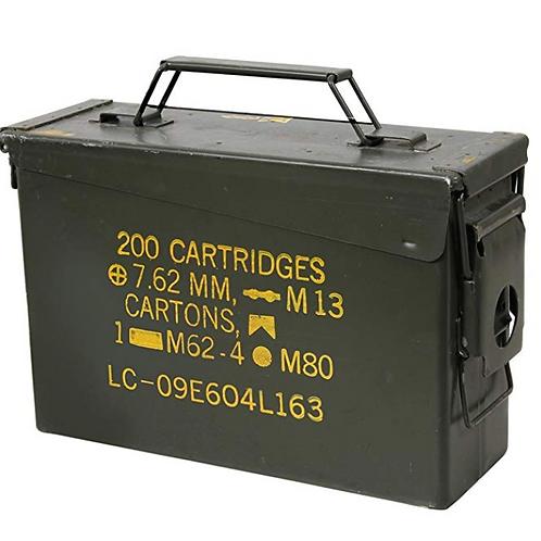 Waterproof Storage Box - Military Ammo Can