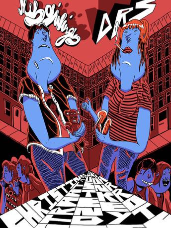 Misgivings gig poster