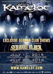New Shows with Kamelot Confirmed