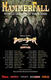 European Tour with HAMMERFALL