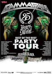 European Tour with GAMMA RAY