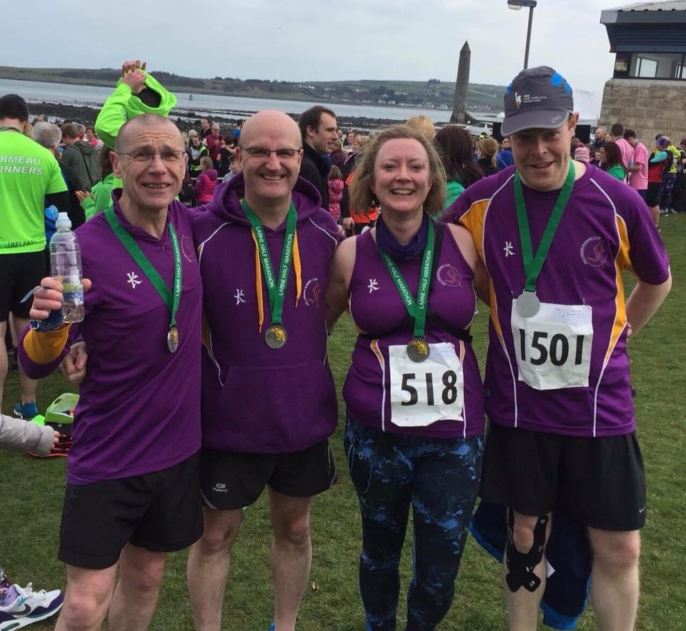 Larne Half Marathon March 2016