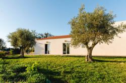 Main house and garden