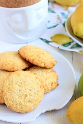 Lemon Cake Cookies