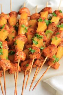 Pineapple Chicken Skewers