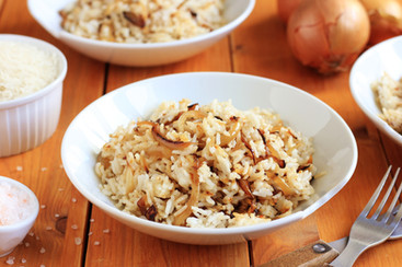 Fried Rice With Onion