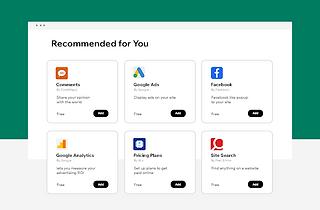 Adicione todos os aplicativos que você precisa para ter criar uma boa relação com seus clientes.