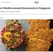 Best Meditterenean Restaurants in Singap