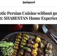 Exotic Persian Cuisine without going out