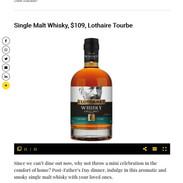 lothaire tourbe french single malt whisk