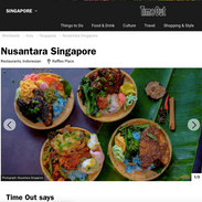 Nusantara Singapore Frasers Tower Timeou