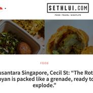 Nusantara Singapore Sethliu Malay Food I