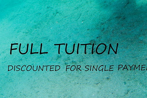FULL TUITION W DISCOUNT