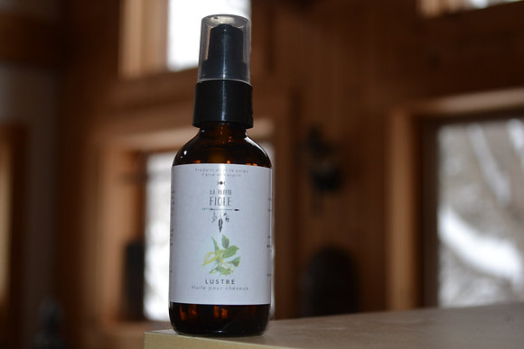 Huile sérum régénérateur pour cheveux LUSTRE Hair repair oil serum