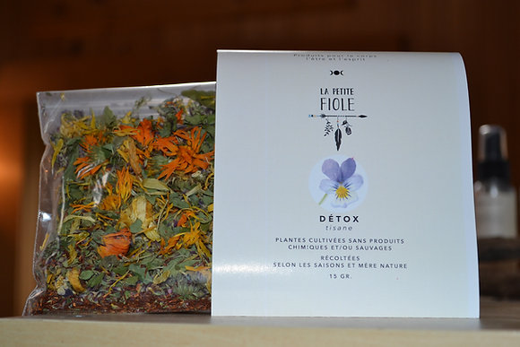 Tisane DÉTOX 20 gr. herbal tea