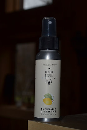 Ô d'ambiance SYNERGIE CITRONNÉE  air freshener