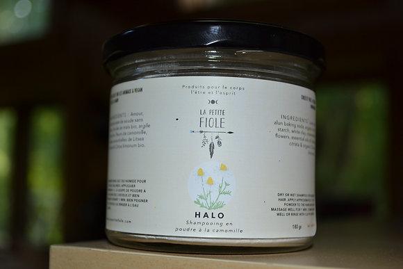 Shampooing sec ou humide HALO dry or humid shampoo 180 gr,