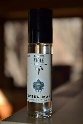 Huile parfumée GREEN MAN parfumed oil