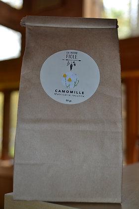 camomille cultivée naturellement 50 gr