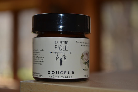 Crème visage Douceur face cream 30 ml