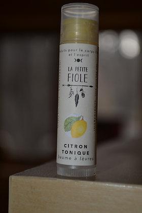 Baume à lèvres Citron tonique lipbalm