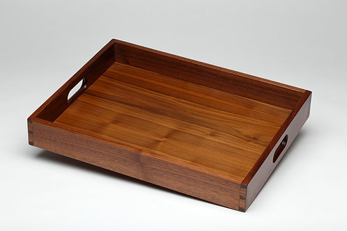 Large Walnut Serving Tray (#1)