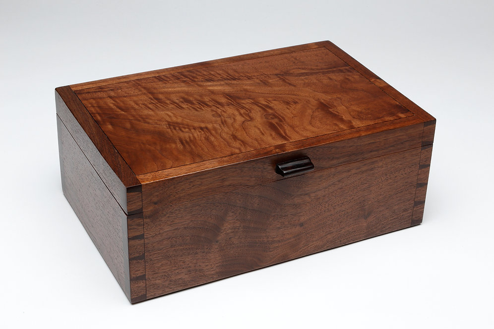 Walnut Box with Lid (#6)