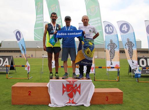 Luís Gouveia, tricampeão nacional de 3000 M obstáculos M50