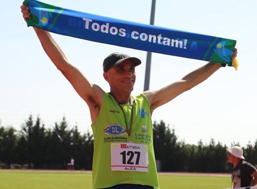 Luís Gouveia, vice-campeão regional de 3000 metros Obstáculos