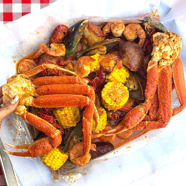 Spicy, Garlicky, Buttery Seafood Boil.