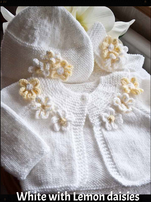 Option 5 little daisy cardigan only
