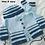 Thumbnail: Option P snazzy stripe cardigan, hat & socks