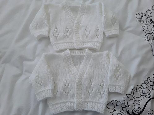 Option N19 lace tree cardigan