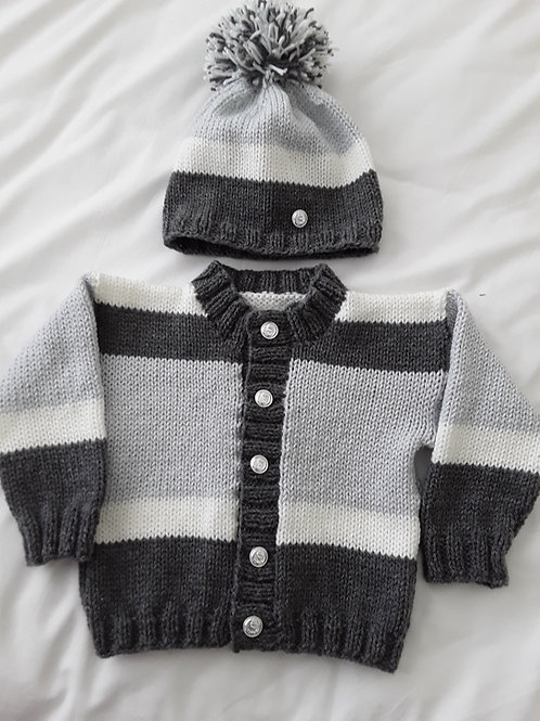 Option R coloured block cardigan only