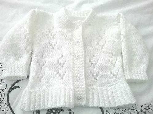 Option 8 crystal & lace cardigan
